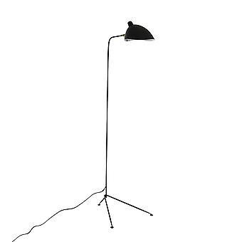 Italux Davis - Industrial And Retro Floor Lamp Black 1 Light , E27