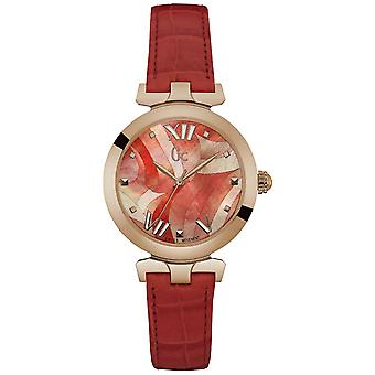 Gc watches ladybelle watch for Women Analog Quartz with Cowhide Bracelet Y20004L3
