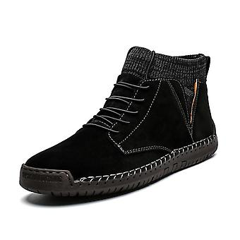 Férfi's Vulcanized Plus High Tops Comfort bőr cipők alkalmi cipők