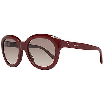 Burgundy Women Sunglasses