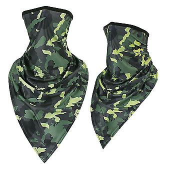 Tactical Summer Scarf Tube Camo Face Covers/mask, Military Triangle Bandana