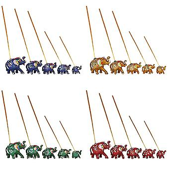 Something Different Elephant Incense Holder (Pack of 5)