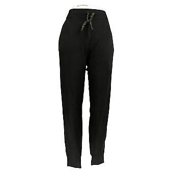 Zuda Women's Pants Soft Jogger W/ Tie Waist Black A390242