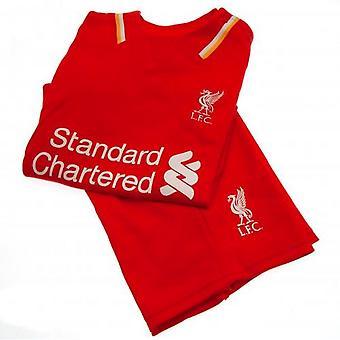 Liverpool FC Barn/Barn Fotboll Kit
