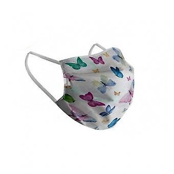BigBuy Reusable Hygienic Mask Adult Butterfly