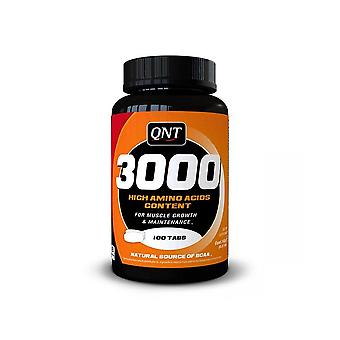 QNT Amino Acid 3000 Muscle Mass Increased Protein Amino Boost - 100 Tabs