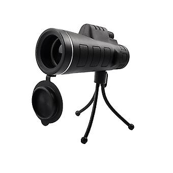 פנדה 35x50 אופטי HD עדשה מונוקולרית BAK4 טלסקופ עמיד למים נייד ראיית לילה חיצוני קמפין