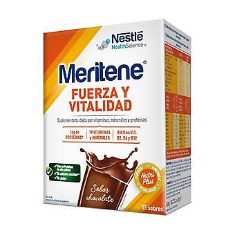 Meritene Milkshake Chocolate 15 packets of 30g