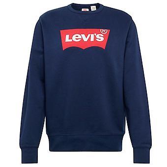 Kinder Sweatshirt Levi's Box Tab Marine blau Marine/14 Jahre