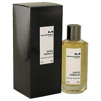 Mancera Coco Vanille Eau De Parfum Spray (Unisex) por Mancera 4 oz Eau De Parfum Spray