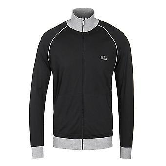 BOSS Mix&Match Black Zip-Through Sweatshirt