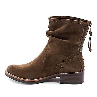 Lucca Lane Womens Carolsue Leather Closed Toe Ankle Fashion Boots