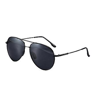 New Memory Frame Polarized Men's Outdoor Driving Color-changing Sunglasses