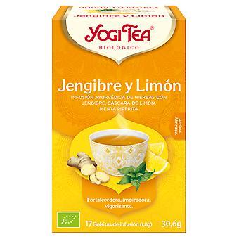 Yogi Tea Jengibre y Limon 17 Sacs