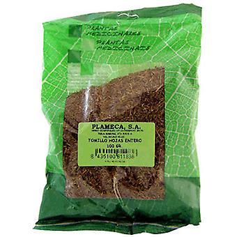 Plameca timjami kokonaiset lehdet 1000 mg