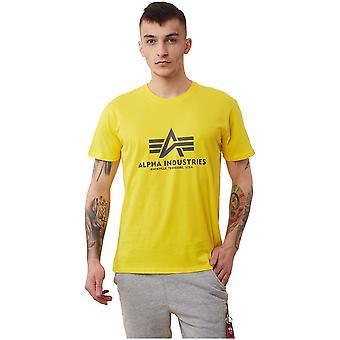 Alpha Industries Basic 100501465 universel toute l'année hommes t-shirt