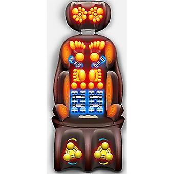 Elektrische Shiatsu Massage Stuhl Haushalt automatische Körpermassage Kissen Multifunktions-Kneten Hals Schulter Rücken Schmerzlinderung