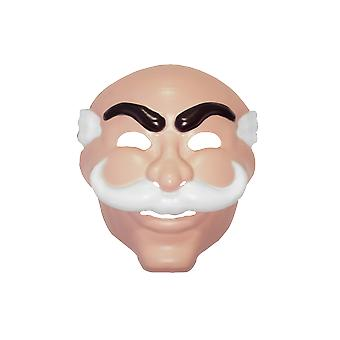 Adult Mr Robot Mask Halloween Fancy Dress Costume Accessory