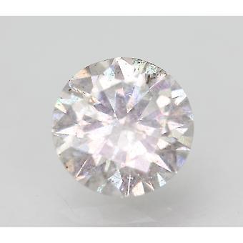 Certified 1.61 Carat E SI2 Round Brilliant Enhanced Natural Loose Diamond 7.49mm