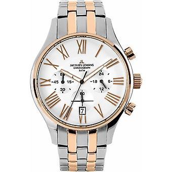 Jacques Lemans Capri 1-1605K -Reloj de pulsera Unisex