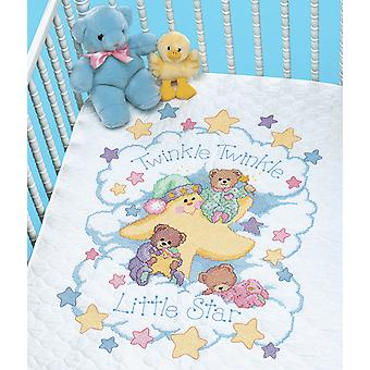 Dimensions Stamped Cross Stitch: Quilt: Twinkle Twinkle