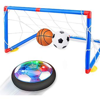XGF Kids Toys Hover Soccer Ball with Goal Set Gift Boys Girls Age 3,4,5,6,7,8-12 Year Old