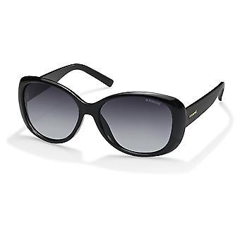 Polaroid PLD4014/S D28/WJ Skinnende Svart/Polarisert Grå Gradient Solbriller