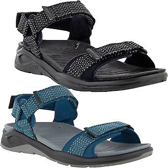 ECCO Mens X-Trinsic Outdoor Waterproof Summer Beach Adjustable Sandals