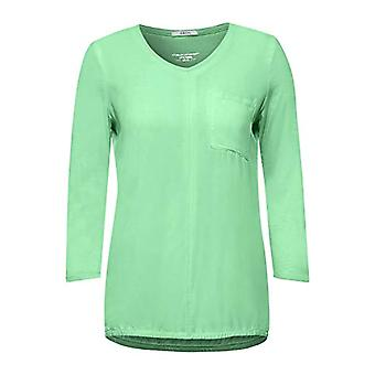 Cecil 315791 T-Shirt, Bud Green, Medium Woman