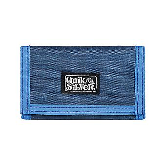 Quiksilver den Everydaily polyester plånbok i Navy Blazer Heather