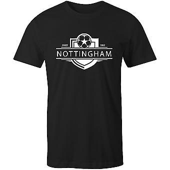 Notts county 1862 established badge kids football t-shirt