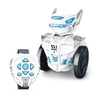 Remote Control Robot DIY Blocks Toys Educational Gravity Induction RC Robot Sensor|RC Robot(White)