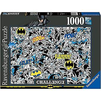 DC Comics - Batman Utfordring - 1000 stykke puslespill