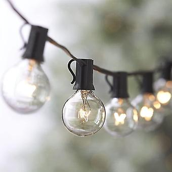 String lights connectable to 25 g40 bulbs 7.62m waterproof string of lights outdoor indoor decoration dt5983