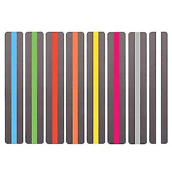 new 8pcs-s guided reading strips bookmark sm32709