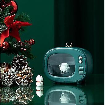 Tv Cute Pet Humidifier Portable Mini Mute Cartoon Moisturizing Spray(Green)
