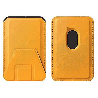 携帯電話ホルダーカードホルダー折りたたみカードホルダーカードステッカー多機能磁気カードホルダー