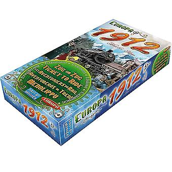 Newest Board Game Ticket To Ride Cards Game 1912 Expansion Ttr Board Game Party Table Games Card Games