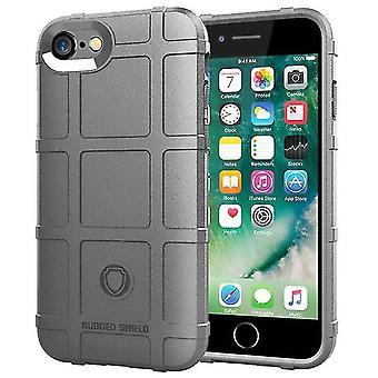 Étui à coque protecteur résistant aux chocs durable pour l'iPhone 7 d'Apple - Gris