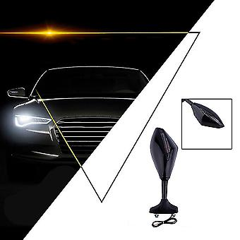 オートバイのスポーツカーのためのユニバーサルブラックLedターン信号ライトバックミラー