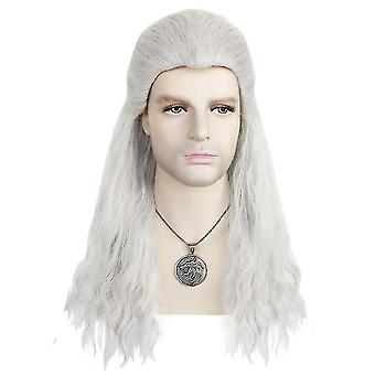 Game Wigs The Witcher Cosplay Wig Cap