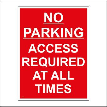 VE283 No Parking Access Required At All Times