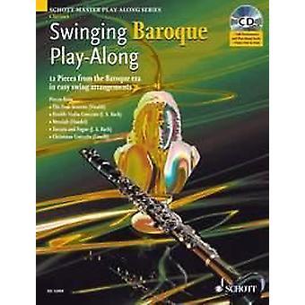 Schott Swinging Baroque Play-Along clarinet