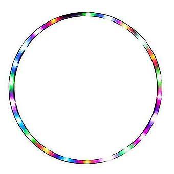 Luci a led dalle prestazioni colorate che brillano Hula Hoop staccabile Hula Hoop Fitness Vita sottile