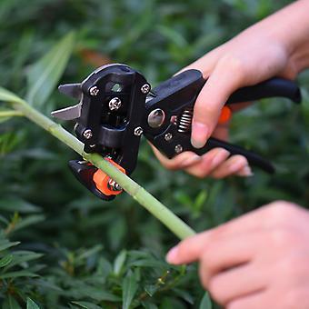 Plant Cut Nursery Grafting Tool Garden Branch Cutter Scissor Shear Floristry Grape Secateur Fruit Tree Pruner Pruning Vine Seedl
