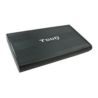 """External Box TooQ TQE-2510B HD 2.5"""" SATA USB 2.0 Black"""