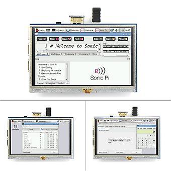 5-Zoll Resistive Touchscreen Lcd Display Hdmi für Raspberry Pi Xpt2046