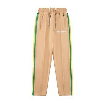 Palm Angels Pantalon décontracté de sport rayé coloré