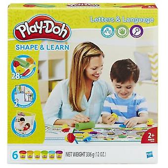 Play Doh Letters & Languages