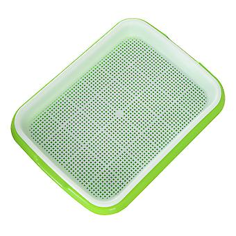 Seed Sprouter Tray Plant Germination Trays Double Layer Hydroponics Basket
